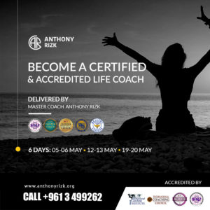 Anthony Rizk Life Coach Certification Lebanon