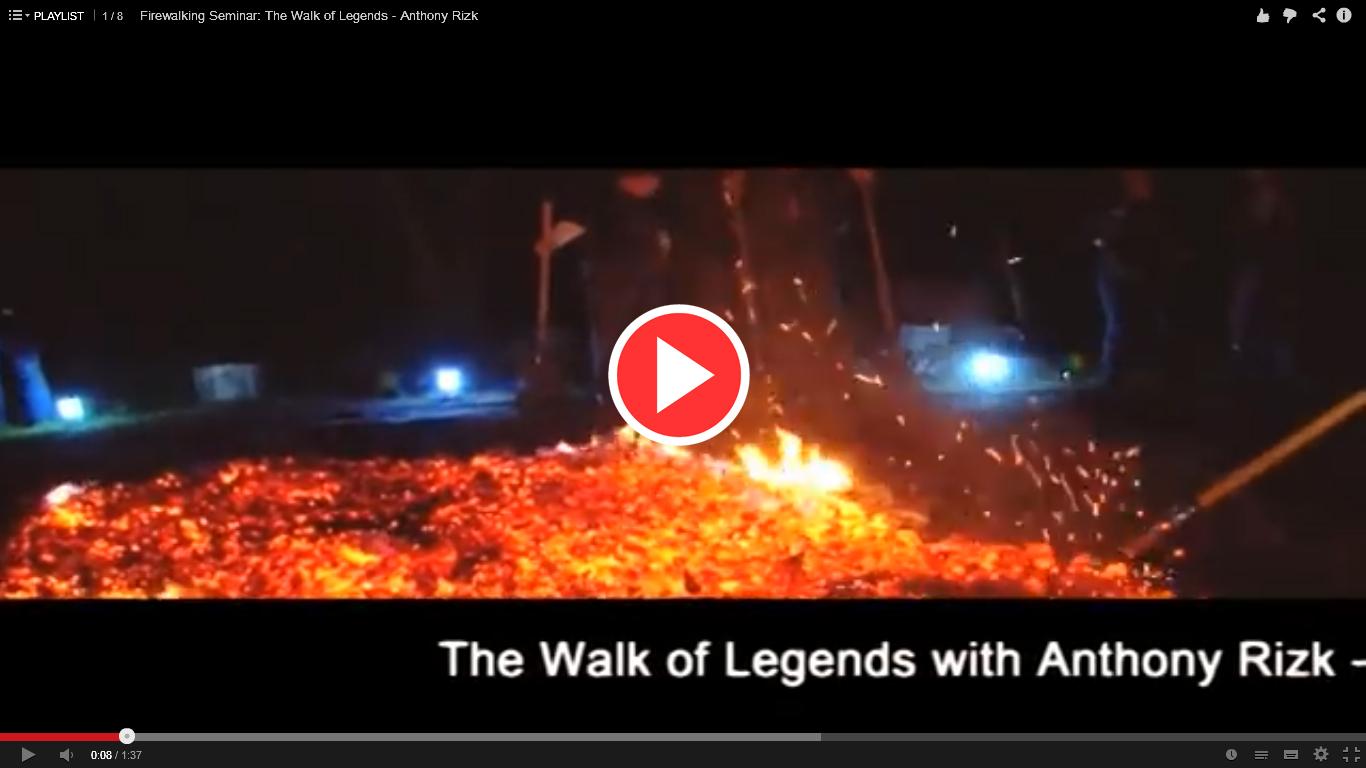 Firewalking Seminar - The Walk of Legends