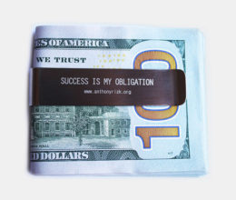 Motivational Money Clip - Anthony Rizk