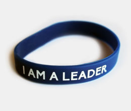 Motivational Wristband I am a Leader - Anthony Rizk