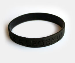 Motivational Wristband Live Like A Legend - Anthony Rizk