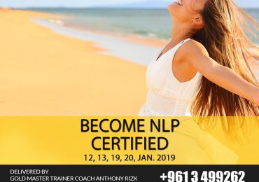 Basic NLP Certification Course in Lebanon (12, 13, 19, 20 January, 2019)