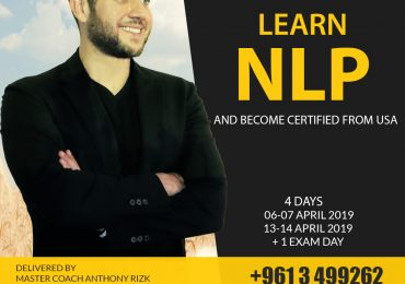 Basic NLP Certification Course in Lebanon (6, 7, 13, 14 April, 2019)